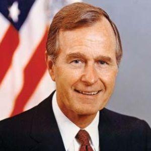 George H. W. Bush Age